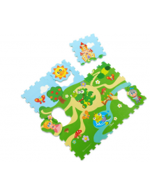 Tappeto Puzzle Castello