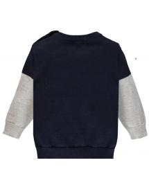 Retro del Maglioncino girocollo in tricot macro argyle