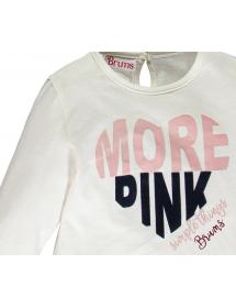 Dettaglio seconda T-shirt in jersey mano pesca