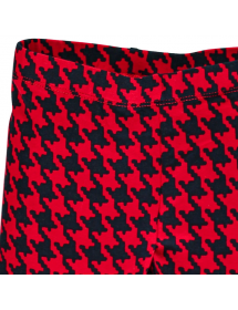 Dettaglio stampa Leggings in jersey elasticizzato pesante con stampa pied de poule Brums