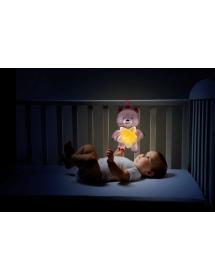 Goodnight Bear Rosa 0915610