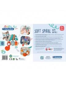 Soft Spiral Happy Animals 17320