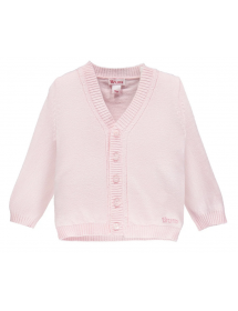 Brums Cardigan in tricot  Rosa 000BBHC001 023