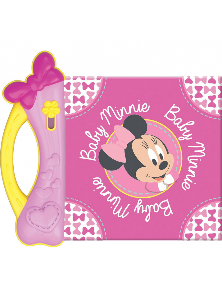 Baby Minnie morbido libro