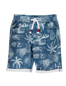 Mek - Pantalone corto felpina allover 211mhbm010 267