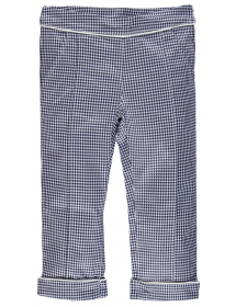 Brums Pantalone in rasatello stretch vichy 201bgbh003 903