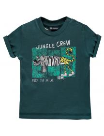 Brums - T shirt jersey con stampa 211bdfn011 696