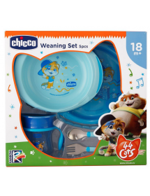 Chicco Set Pappa 44 Cats...