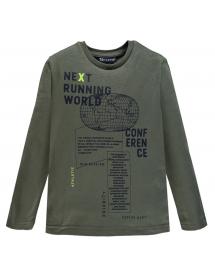 Brums - T shirt jersey con stampa 211bffl002 674